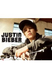 Justin Bieber BMX - plakat