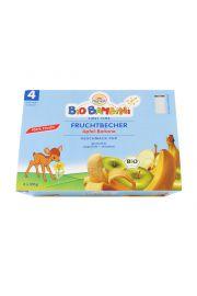 4 Mc Przecier Owocowy Jabłko - Banan Bezglutenowy Bio 4 X 100 G - Sun Baby