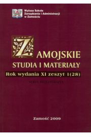 Zamojskie Studia i Materia�y. Seria Fizjoterapia. R. 11, 1(28)