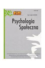 Psychologia Spo�eczna nr 2(17)/2011