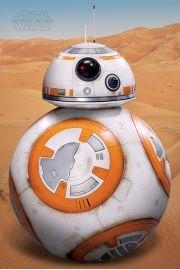 Star Wars Gwiezdne Wojny Droid BB-8 - plakat