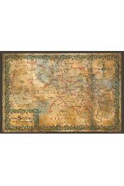 The Hobbit Mapa Shire - plakat