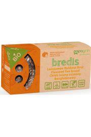 Chleb Lniany Suszony Z Cebulą I Czosnkiem Bezglutenowy Bio 70 G - Papagrin
