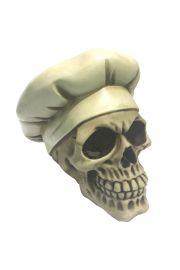Czaszka w czapce kucharskiej