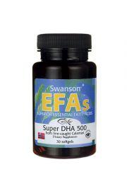 Swanson Super DHA 500mg 30 kaps.