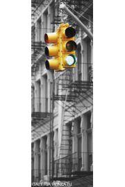 Nowy Jork Światła Uliczne - Go! Go! - plakat