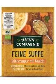 Zupa Rosół Z Makaronem Bio 40 G - Natur Compagnie