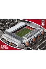 FC Liverpool Anfield Road - plakat