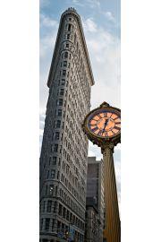 Nowy Jork Wie�owiec FlatIron - plakat