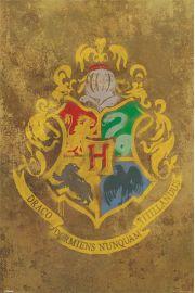 Harry Potter Hogwart - plakat
