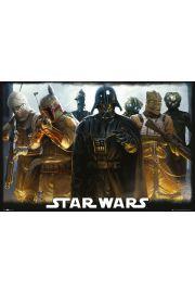 Gwiezdne Wojny �owcy G��w - plakat