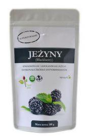 Jeżyny - liofilizowane, sproszkowane - 100 g