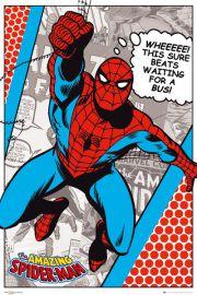 Marvel Komiks - Spiderman - plakat