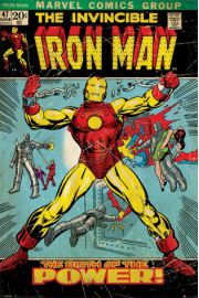 Iron Man Birth Of Power - plakat