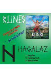 HAGALAZ - RUNES... - singiel CD