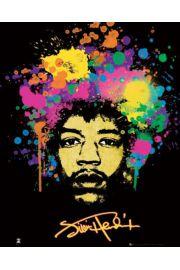 Jimi Hendrix Splatteres - plakat