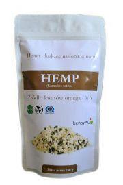 HEMP - organiczne łuskane nasiona konopi - 250 g