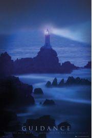 Przewodnik - Latarnia Morska - plakat motywacyjny