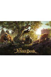 Walt Disney Księga Dżungli Bohaterowie - plakat