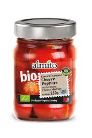 Papryczki Cherry Słodko - Pikantne Z Serem Bio 230 G - Almito
