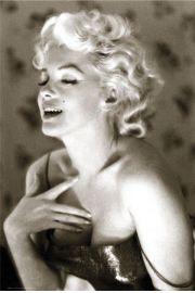 Marilyn Monroe glow - plakat