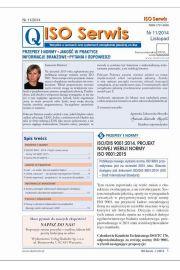ISO Serwis. Wszystko o normach i systemach zarz�dzania jako�ci�. Nr 11/2014