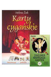 Zestaw: Książka Karty cygańskie + karty do wróżenia