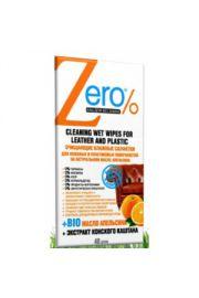 Chusteczki do czyszczenia powierzchni skórzanej i plastikowej ERO Zero