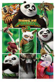 Kung Fu Panda 3 - Bohaterowie - plakat