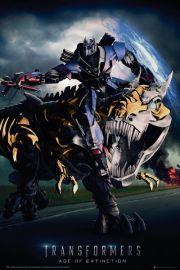 Transformers 4 Wiek Zagłady Grimlock - plakat