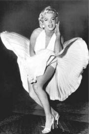 Marilyn Monroe Legenda Słomiany Wdowiec - plakat