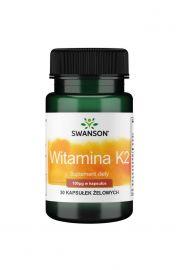 Swanson Witamina K2 naturalna MK-7 100ug 30 kaps.