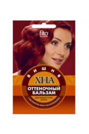 Odżywka koloryzująca do włosów HENNA – wiśnia FIT Fitocosmetic