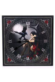 Zegar ścienny - mroczny