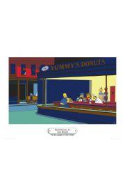 The Simpsonsnighthogs - reprodukcja