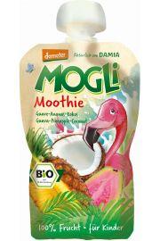 Moothie - Przecier Z Guawą, Ananasem I Kokosem 100% Owoców Bez Dodatku Cukrów Bio 100 G – Mogli