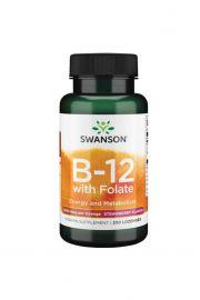Swanson Witamina B12 1000ug 250 tabletek pod język