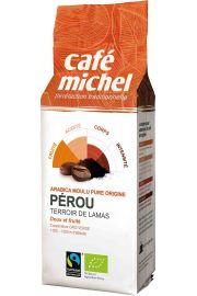 Kawa Mielona Arabica Peru Fair Trade Bio 250 G - Cafe Michel