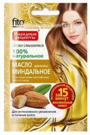 Nat. olejek migdałowy do włosów nawilżenie i odżywienie FIT Fitocosmetic