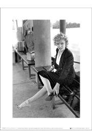 Marilyn Monroe Shoe - art print