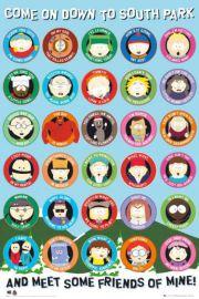 South Park Cytaty - plakat