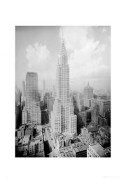 Nowy Jork Chrysler Building - reprodukcja
