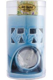 Kominek Aromaterapeutyczny - błękitny