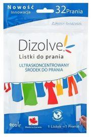 Dizolve, Listki do prania, ZAPACHOWE, hypoalergiczne, 32 prania