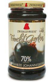 Mus Z Czarnej Porzeczki (70% Owoców) Bezglutenowy Bio 225 G - Zwergenwiese