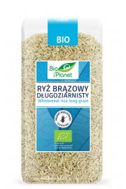 Ryż Brązowy Długoziarnisty Bio 500 G - Bio Planet