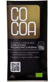 Czekolada Surowa Cappucino Migda�owe Z Morw� Bio 50 G - Cocoa