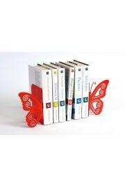 Podpórka do książek Motyl (czerwona)
