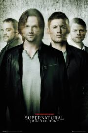 Supernatural Nie z tego świata Blur - plakat