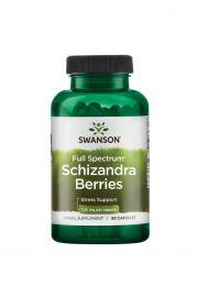 Swanson Cytryniec chiński (Full Spectrum Schizandra Berries) 525mg 90 kaps.